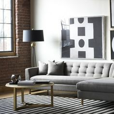 We have put together all of our favourite living room design ideas and inspirations for the season so you can be inspired to get the perfect look. All the living room design ideas you'll need. Living Room Grey, Home Living Room, Living Room Designs, Living Room Decor, Living Spaces, Loft Spaces, Small Spaces, The Design Files, Home Fashion
