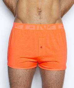 C-IN2 Under-Tone Boxer Cone Orange 1119-HS826 at International Jock Underwear & Swimwear