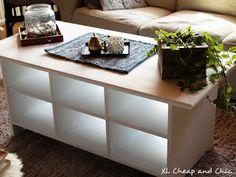 XL Cheap & Chic: DIY projekteja alkukesästä - DIY projects... Diy Projects, Chic, Table, Furniture, Home Decor, Shabby Chic, Elegant, Decoration Home, Room Decor