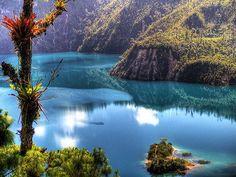 Paraíso en México en el estado de Chiapas