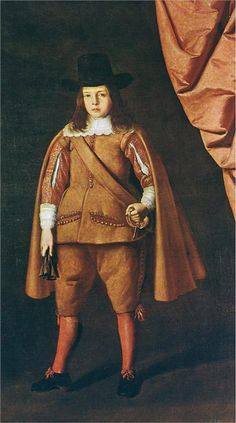 Portrait of a boy (The Duke of Medinaceli), Francisco de Zurbaran (1598-1664)