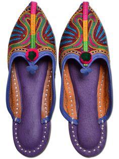Trendy Multi Color #Women #Mojari