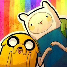 Finn y Jake♡ Hora de Aventura