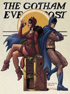 Norman Rockwell's Batman