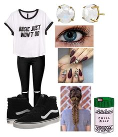 """Untitled #81"" by cannonsamiya on Polyvore featuring H&M, Vans, women's clothing, women, female, woman, misses and juniors"