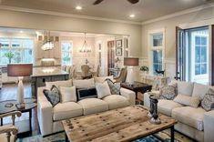Amazing Rustic Farmhouse Style Living Room Design Ideas 01