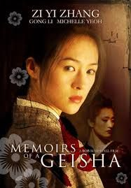 Memoirs of a Geisha - ZiYi Zhang as Sayuri - Costume designed by Colleen Atwood Gong Li, Michelle Yeoh, Memoirs Of A Geisha, World Movies, Chinese Movies, Movie Covers, Cinema Posters, Documentary Film, Great Movies