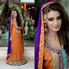 Laraib Designer Collection @laraibdesignercollection | This is my favorite mehndi outfit I've ever seen. Clothes, makeup, and jewelry