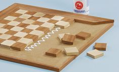 Wood Projects, Woodworking Projects, Wood Chess Board, Wood Crafts, Diy And Crafts, Play Wood, Christmas Fabric Crafts, Chess Table, Wood Joints