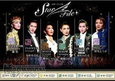 Takarazuka Theatre different companies (Diamond, Flower, Moon, Snow, Star, Cosmos)