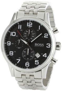 HUGO BOSS Brand New Mens Watch Model 1512446 Strainless Steel Chronograph Quartz Movment Hugo Boss http://www.amazon.ca/dp/B0045TUCB4/ref=cm_sw_r_pi_dp_dBtfwb06NFJKK
