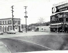 Cherokee and north Market St 1955