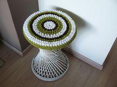 Вязанный крючком чехол для стула - Для уюта в доме