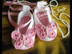 Image result for ballerinas a crochet para bebe