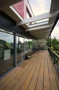 Attractive Home Design And Interior Design Gallery Of Fabulous Nostalgic Family Home  Terrace Wooden Floor Glass Door