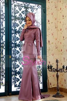 Cheap formal gowns, Buy Quality muslim evening dress directly from China evening dress 2016 Suppliers: Modest Long Sleeve Hijab Lace Muslim Evening Dresses 2016 Arabic Abiye Peplum Formal Gowns with Sash robe de soiree Muslim Prom Dress, Hijab Prom Dress, Muslim Evening Dresses, Hijab Evening Dress, Hijab Style Dress, Evening Gowns, Gaun Dress, Dress Brokat, Kebaya Dress