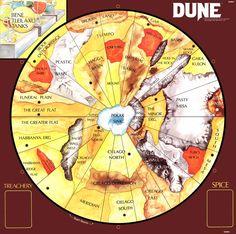 The planet of Arrakis from Frank Herbert's Dune