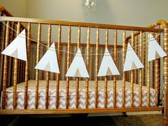 Check out this item in my Etsy shop https://www.etsy.com/listing/294627139/wood-teepee-bunting-flags teepee decor Nursery decor wood bunting flags