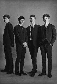 The Beatles A. Kircher (just 'cause! Great Bands, Cool Bands, John Lennon Paul Mccartney, Les Beatles, Beatles Guitar, Music Genius, Beatles Photos, Recorder Music, The Fab Four
