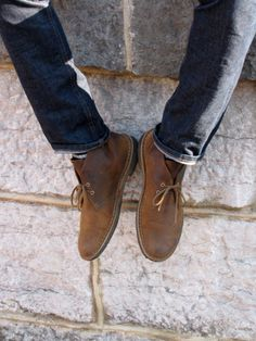 Every stylish guy needs a pair of Clarks desert boots. In every colour.