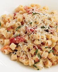 This is a staple pasta for us. We like to serve it to friends and family along with some excellent wine.