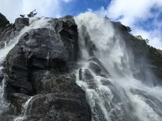 Norway, waterfall, Lysefjord