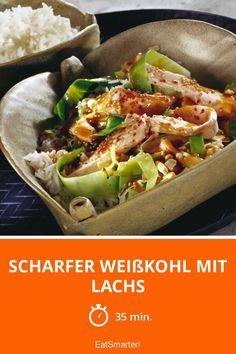 Scharfer Weißkohl mit Lachs - smarter - Zeit: 35 Min. | eatsmarter.de