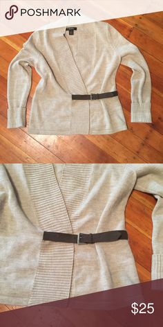 A.Giannetti 100% merino wool sweater size L A.Giannetti tan sweater size L. Has a little belt attachment at the bottom. In great used condition. 100% Merino wool. Small hidden button closure inside sweater to keep it closed. A.Giannetti  Sweaters Cowl & Turtlenecks