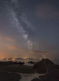 'The Dark Rift' - Llanddwyn Island, Anglesey #Wales
