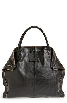 Urban Street Ready Style | Serafini Amelia| Alexander McQueen 'Large De Manta' Tote available at #Nordstrom