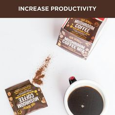 Four Stigmatic Instant Coffee. So easy to grab a packet and add hot water.  Grab and go energy without the jitters and midday crash!  With medicinal mushrooms of wild harvested chaga and cordyceps. Low acidity means no stomach burn.  It is tested to ensure absolutely zero pesticides and minimal levels of mycotoxins.  Increase Productivity and Mental Clarity.  100% Arabica Coffee  Click Link here www.foursigmatic.com and Use Promo Code: DRSUZHEALS for 10% Off Your Order At Checkout #promo…