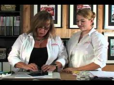 Cathie Allan's webisodes (Fun rubber-stamping)