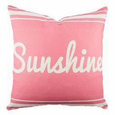 Pretty pretty pink pillow