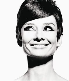 Audrey Hepburn was one of my inspirations when I cut my hair. She is gorgeous, and not afraid to be bold.