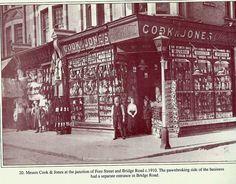 Cook & Jones corner of Bridge Road c.1910