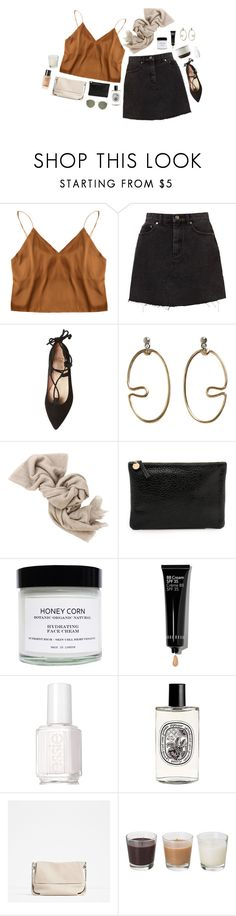 """""""spice"""" by yetthisonecounts ❤ liked on Polyvore featuring French Sole FS/NY, House Doctor, MANGO, Brunello Cucinelli, Clare V., Honey Corn, Bobbi Brown Cosmetics, Essie and Diptyque"""