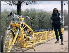 World's Longest Bike is 31,4 Feet Long