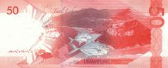 Philippine Peso Bills - Art and design inspiration from around the world - CreativeRoots Lake Animals, Philippine Peso, Baybayin, Philippines Culture, Batangas, Play Money, Flora And Fauna, Embroidery Designs, Design Inspiration