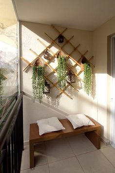 Terraço do Felice Vila Formosa Home Projects, Home Crafts, Diy Home Decor, House Plants Decor, Plant Decor, Interior Decorating, Interior Design, Balcony Design, Balcony Garden