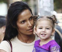 Padma Lakshmi + her beautiful daughter Krishna