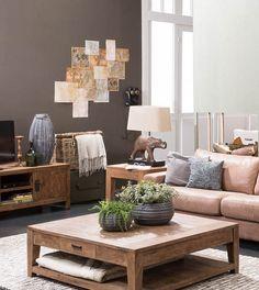 Een puur interieur combineert goed met Afrikaanse accessoires!