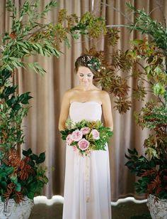 Tendance Robe du mariée 2017/2018  pink tinted wedding dress