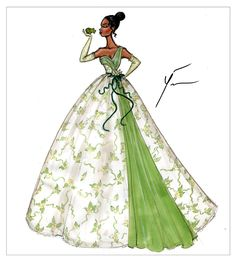 "Disney Princesses ""Tiana"" by Yigit Ozcakmak"