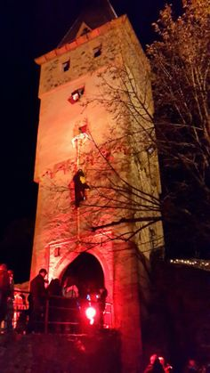 The Burg Frankenstein in Muhltal, Gernany is a great destination for Halloween.  The castle is transformed into a haunted castle.  It's pretty awesome!