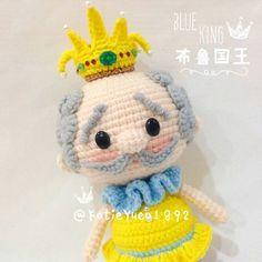 WEBSTA @ katieyuenlj - 布鲁国王 ❤BLUE King #amigurumiaddict #amigurumi #amigrumi #crocheting #crochetart #crochet #crochetaddict #crafts #häkeln #haken #handmade #handcraft #diy #doll #instacrochet #yarnlovers #yarn #钩针 #钩针玩偶 #手工