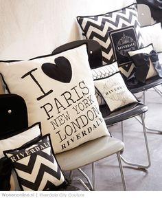 New York, Londen, Parijs: in deze bruisende en chique steden waar het leven 24/7 doorgaat, is een loft dé plek om je terug te trekken. De collectie City Couture van Riverdale past perfect bij dit gevoel en maakt elk interieur fashionable