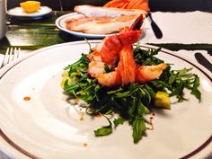 Shrimp avocado salad Shrimp Avocado Salad, Seaweed Salad, Quality Time, Meat, Ethnic Recipes, Food, Beef, Meal, Essen