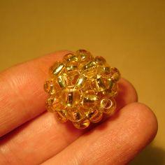Beaded sphere (pattern on website)