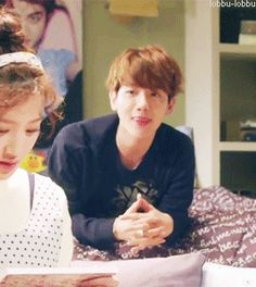 my favorite part in all EXO next door: Baekhyun's little feet.