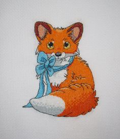 VK is the largest European social network with more than 100 million active users. Cross Stitch Beginner, Simple Cross Stitch, Easy Cross, Cross Stitching, Cross Stitch Embroidery, Cross Stitch Patterns, Fox Drawing, Pet Fox, Cross Stitch Animals